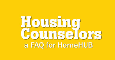 FAQ for Housing Counselors